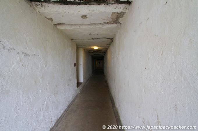 ノース・ヘッド 軍事施設跡内部