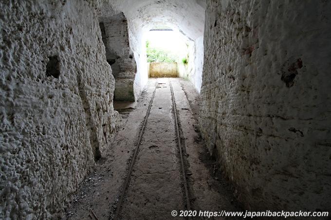 ノース・ヘッド トンネル跡