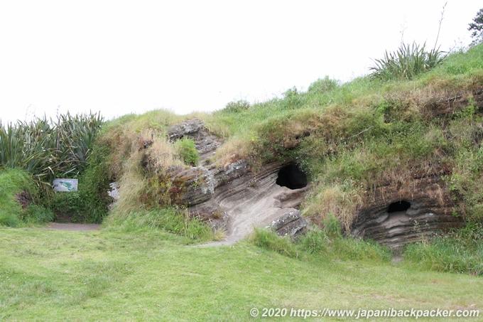 ノース・ヘッド 洞窟