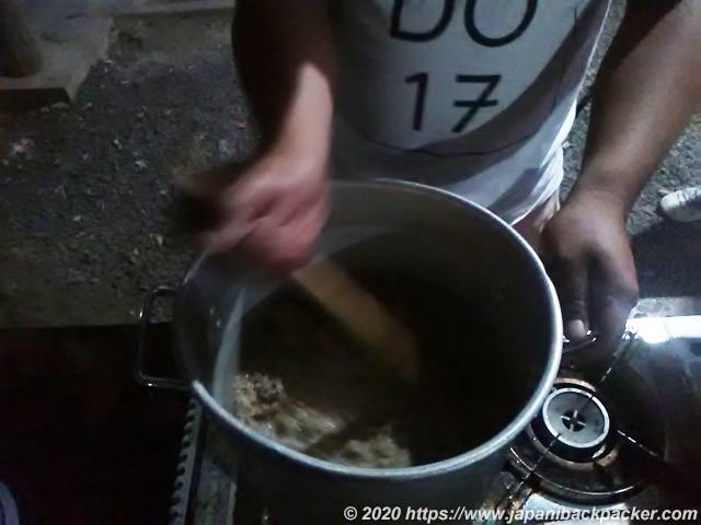 ミクロネシア サカウ作り