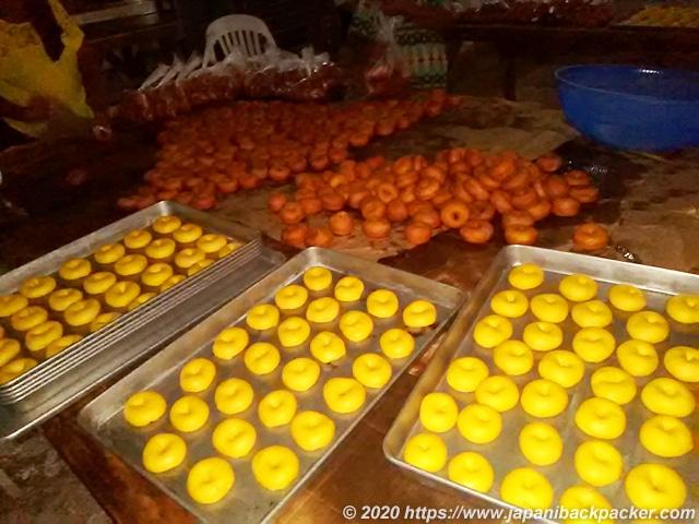 ポンペイ島 コロニアのドーナッツ工場