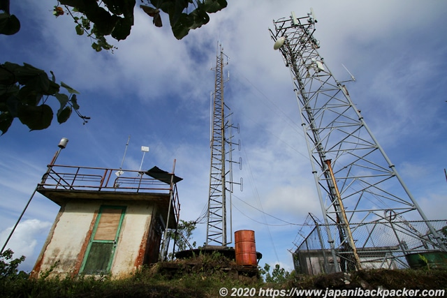 ソケースマウンテンの電波塔