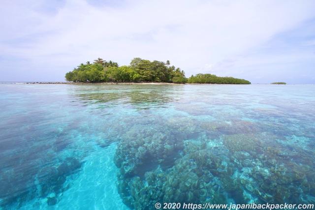 ミクロネシアの海