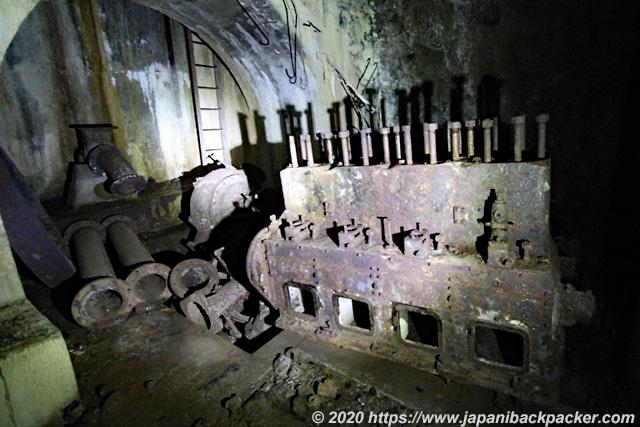 ランガル島 原油貯蔵設備跡