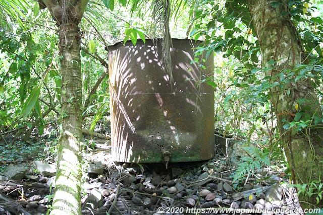 ランガル島 貯水タンク