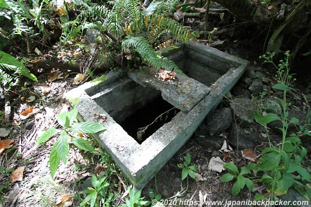 ランガル島 貯水