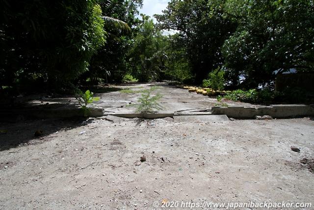 ランガル島 倉庫跡