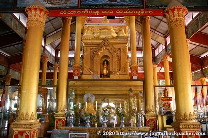 ヒンターゴン・パヤー 仏像