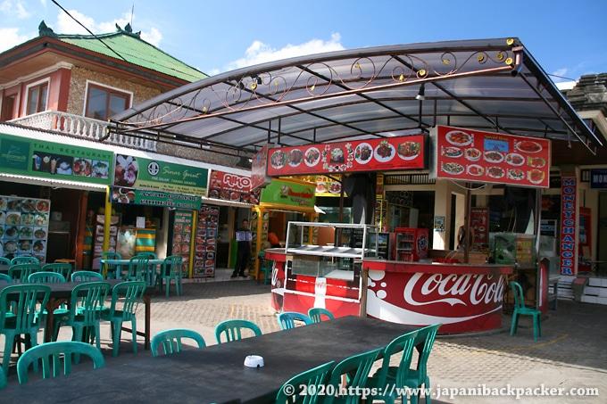 バリ島クタの食堂
