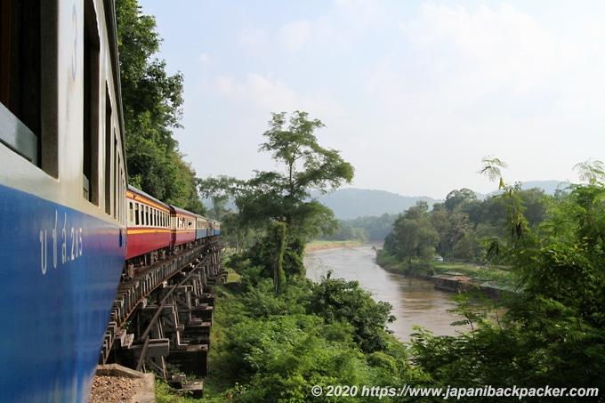 泰緬鉄道の景色