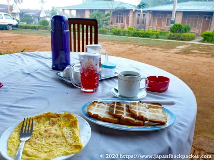 ミャンマー 朝食