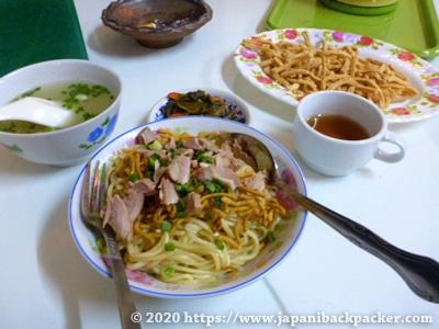 ミャンマーのラーメン
