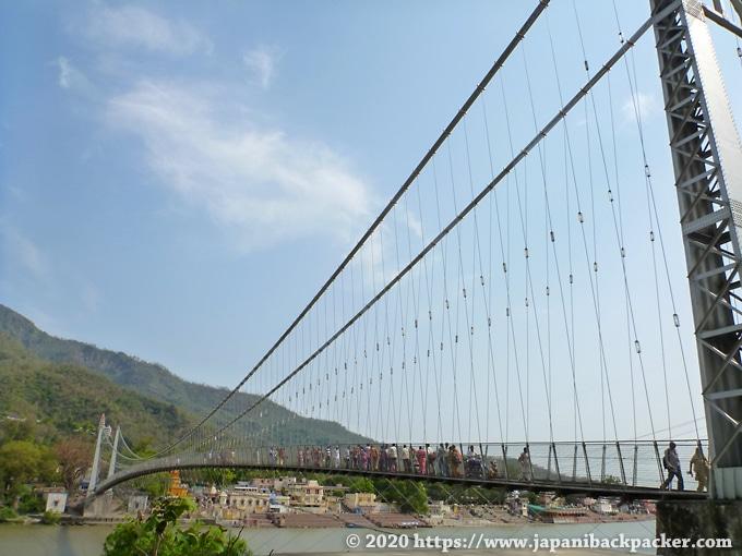 リシケシの吊り橋