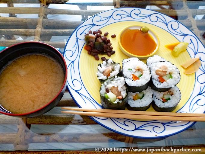 リシケシの日本食