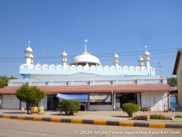 ミャンマー、カローのモスク