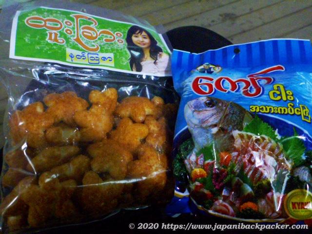 ミャンマーの菓子