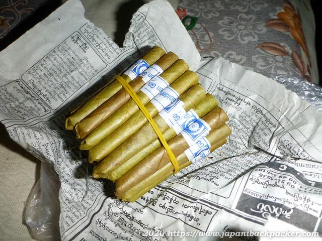 ミャンマーのタバコ