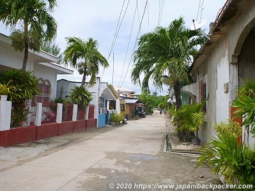 マラパスクア島の町