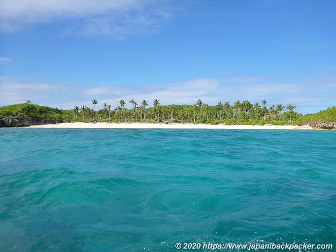 マラパスクア島 Gugma Beach