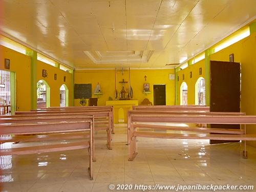 マラパスクア島の教会