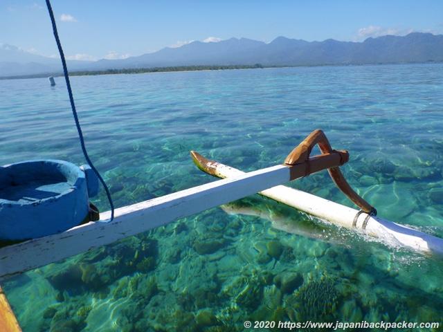 インドネシアのボート