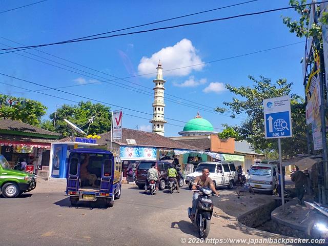 ロンボク島の街並み