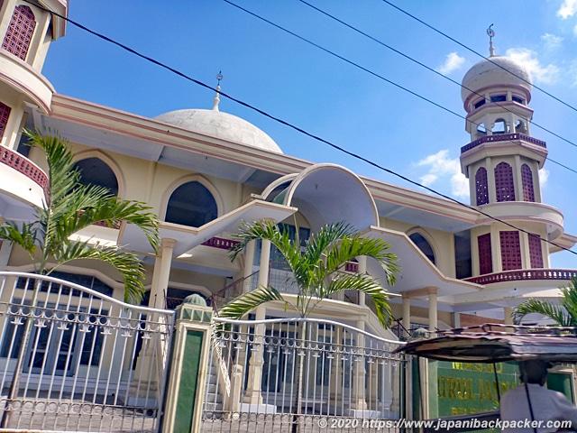 ロンボク島のモスク