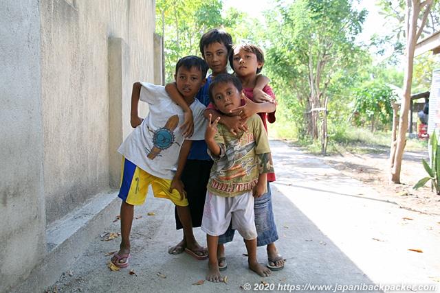 インドネシアの子供達
