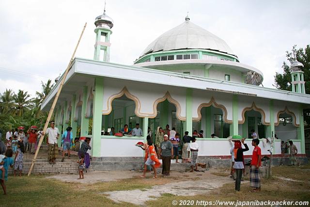 ギリメノ島のモスク