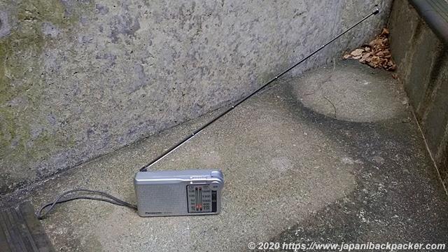 パナソニック FM/AM 2バンドレシーバー RF-P155-S