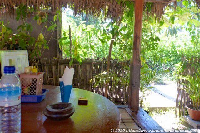 ギリメノ島の食堂