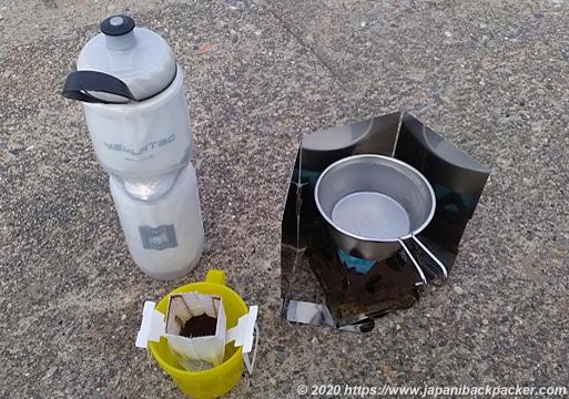 コーヒー沸かす道具