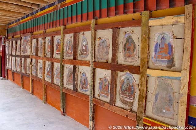 ヘミスゴンパ 古い壁画