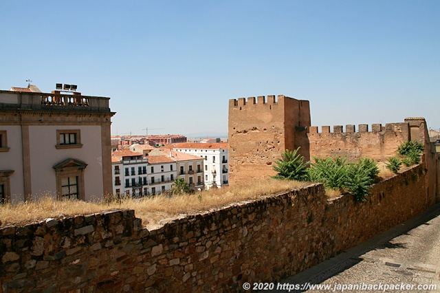 カセレスの旧市街 城壁