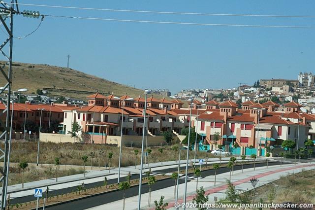 スペインの住宅地