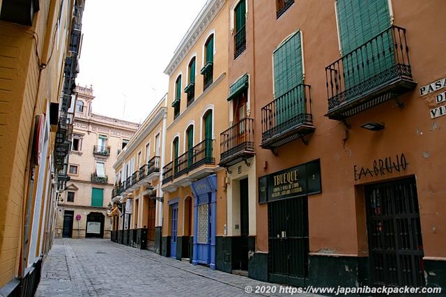 スペイン セビーリャの街並み