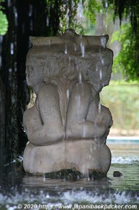 セビーリャ アルカサル 像