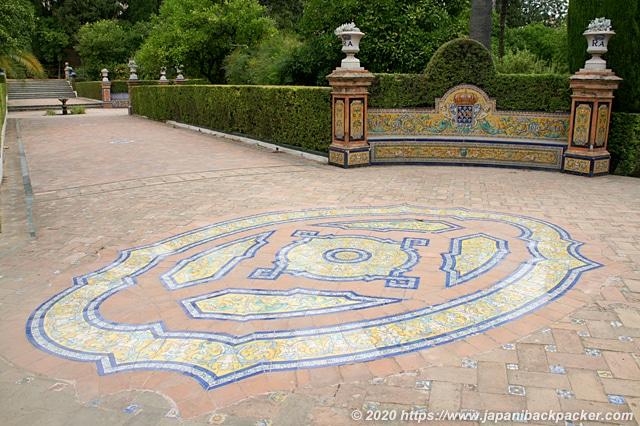 セビーリャ アルカサル 庭園