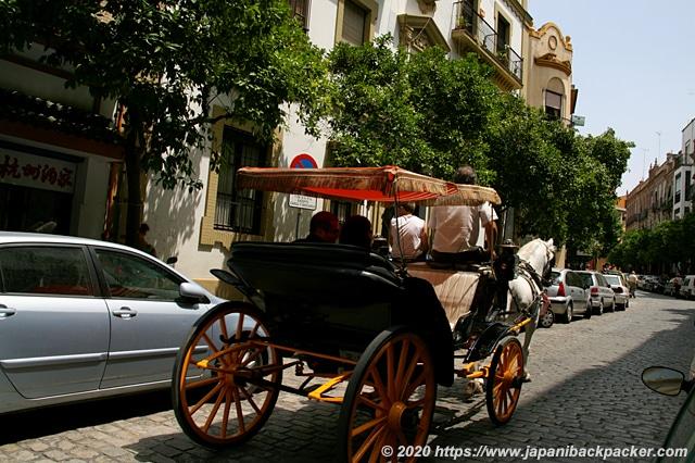 スペイン セビーリャ 観光馬車