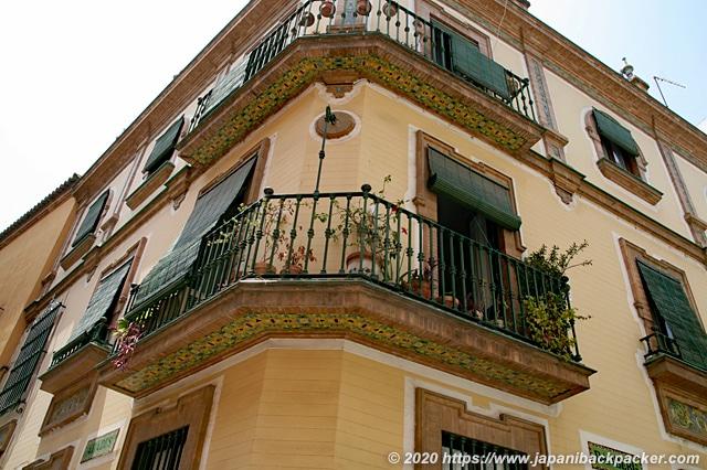 スペイン セビーリャ 民家