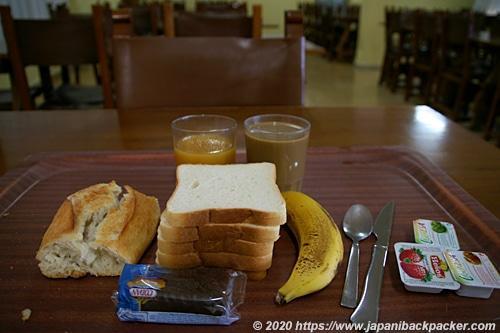 スペイン アビラ ユースホステル 朝食