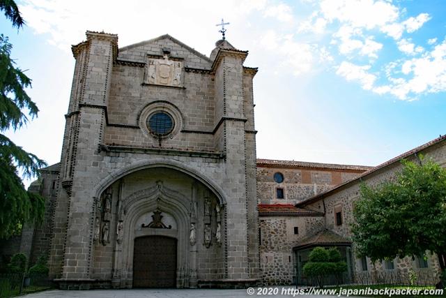 アビラ サン・トマス聖堂 Real Monasterio de Santo Tomás (Ávila)