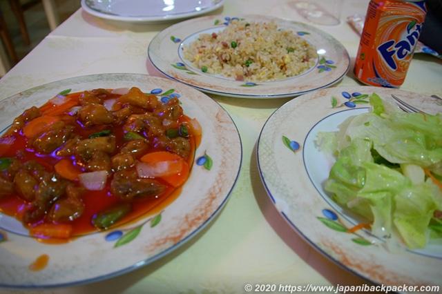 スペイン 中華料理