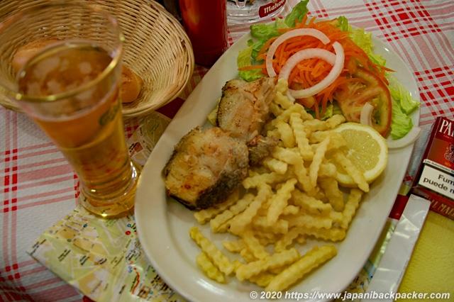 スペイン 定食