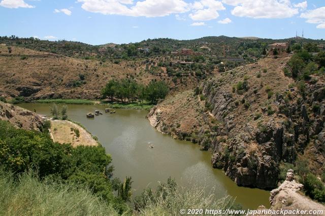 スペイン トレド テージョ川