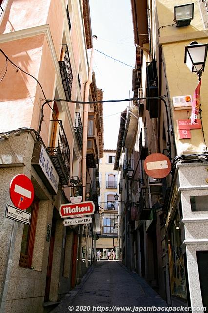 スペイン トレド 街並み