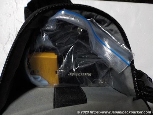 Amazonベーシック カメラバッグ スリングバッグ