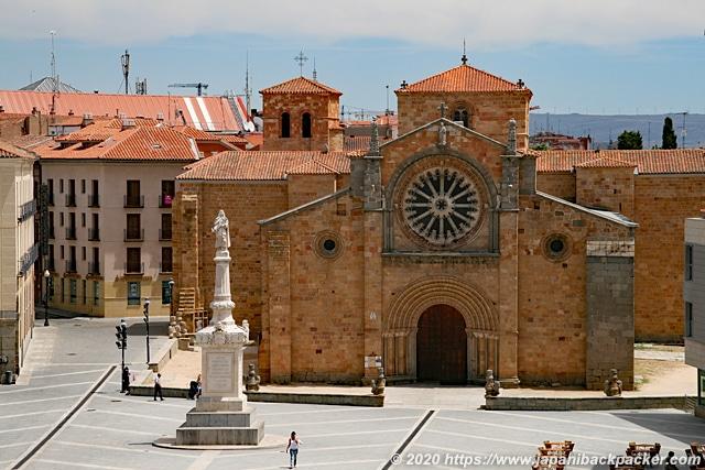 アビラ サン・ペドロ聖堂 Iglesia de San Pedro