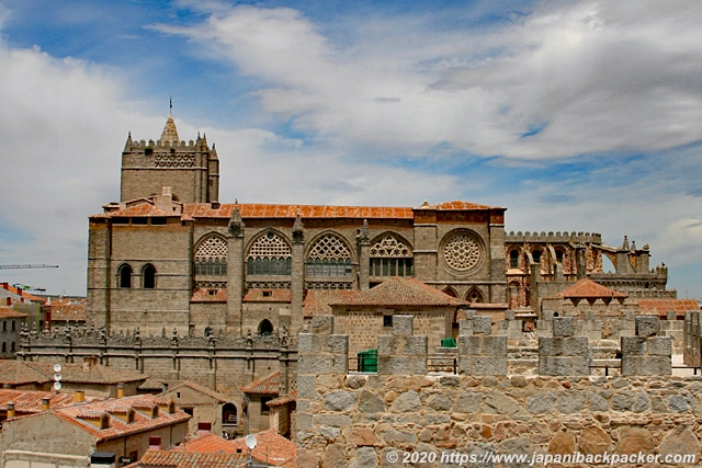 アビラ カテドラル Catedral de Ávila