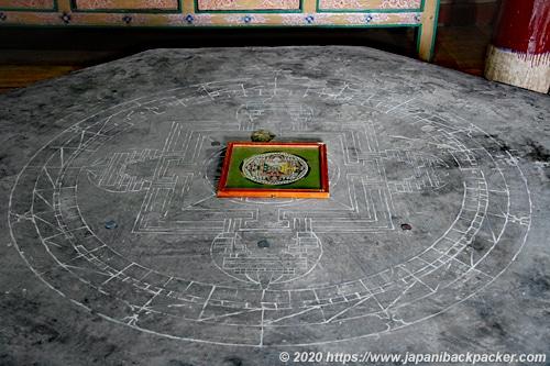 リゾンゴンパ 砂曼荼羅台
